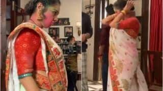 Anupama Drinks Bhaang, Rupali Ganguly Dances to 'Tune Hothon Se Lagayi Toh' in Holi Special Episode - Watch Viral Video