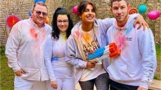Priyanka Chopra Jonas Shares Pictures From Her 'in Home' Holi Celebrations With Nick And Family - See Pics