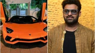 Prabhas Buys a New Lamborghini Aventador Roadster Worth Over Rs 5.5 Crore, Takes it Out For a Ride - Watch Video