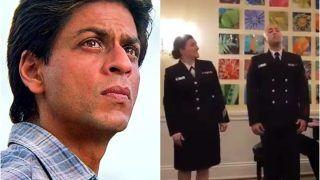 Shah Rukh Khan Goes All Nostalgic And Proud as US Navy Band Sings 'Ye Jo Des Hai Tera' - Watch Viral Video