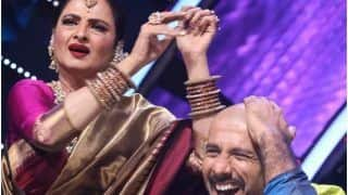 Indian Idol 12: Rekha Plays Tabla on Vishal Dadlani's Bald Head, Singer Shares The Funny Incident