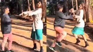 जंगल में राजपाल यादव के साथ रोमांटिक हुईं Shilpa Shetty, हाथ पकड़कर ऐसे कर रही हैं डांस- Viral Video
