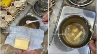 Now, Butter Coffee Makes an Entry to the World of Bizarre Food! Netizens Say, 'Bass Yahi Dekhna Baki Tha' | Watch