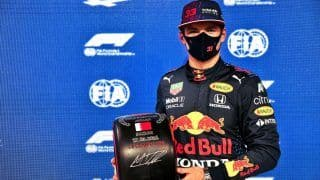 Max Verstappen Beats Lewis Hamilton to Take Pole Position For Bahrain GP