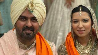 Harman Baweja-Sasha Ramchandani Wedding Photos and Videos: शादी के जोड़े में कमाल लग रहे हैं हरमन और साशा-Viral