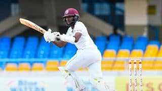 2nd Test: Kraigg Brathwaite scores ton as West Indies stay ahead