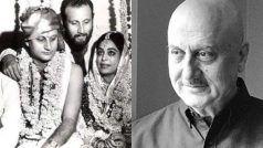 Anupam Kher Birthday: शादीशुदा एक्ट्रेस के प्यार में पड़कर छोड़ दिया था पत्नी का साथ, पहली मोहब्बत हुई थी नाकाम-Unknown Facts