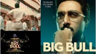 The Big Bull Teaser, Release Date Out: Abhishek Bachchan Steps Into The Shoes of Harshad Mehta to Show 'Mother of All Scams'