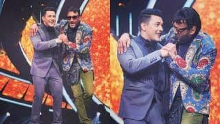 Indian Idol 12 Host Aditya Narayan Croons on 'Rangeela Re' For Jackie Shroff