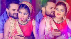 Khesari Lal Yadav New Bhojpuri Holi Song 2021: इस अंदाज़ में खेसारी लाल भाभी संग खेल रहे हैं होली, 'Devra Gal Misi Misi' का धमाल-VIDEO