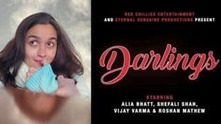 Alia Bhatt Announces Her Production House' First-Ever Film 'Darlings' Along With Shah Rukh Khans Red Chillies