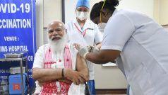 PM Modi ने AIIMS मेंलिया कोरोना वैक्सीन का पहला डोज़, कहा-सभी से अपील करता हूं...