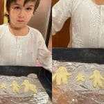 Taimur Ali Khan Bakes Family Cookies Shaped Like Humans, Adds Newborn Brother's Cookie Too- Adorable Pic