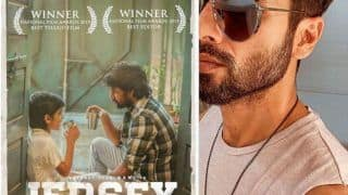 Shahid Kapoor Feels 'Extra Pressure' After Team Jersey Wins 67th National Film Awards, Congratulates in Hilarious Post
