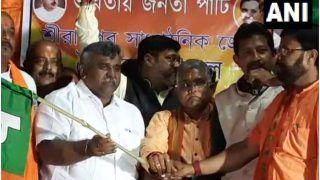 Another Blow To Mamata Banerjee Ahead of Bengal Polls, Senior TMC Leader Jitendra Tiwari Joins BJP