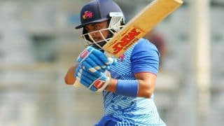 Prithvi Shaw Smashes Third Century in Vijay Hazare Trophy, Surpasses Virat Kohli, MS Dhoni's Highest Individual Score by an Indian in List A Cricket While Chasing