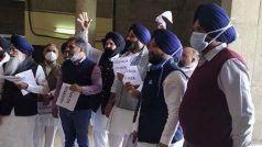 Punjab Assembly Budget Session LIVE: अकाली नेताओं ने फाड़ डालीं राज्यपाल के अभिभाषण की प्रतियां, हटा दिया Red Carpet