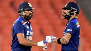 Rohit Sharma vs Virat Kohli White-Ball Captaincy Record: How do Team India Stars Fare as Leaders?