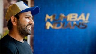 IPL 2021: Captain Rohit Sharma Enters Mumbai Indians Bio-Bubble   WATCH