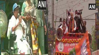 LIVE Video Nandigram: आखिरी महासंग्राम के दिन शाह की ललकार, व्हीलचेयर पर बैठ गरज रहीं हैं ममता