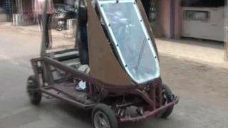 Odisha Farmer Builds Solar-powered Car that Can Run 300 km on a Single Charge