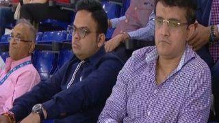 IND vs ENG, 1st T20I: सौरव गांगुली पहुंचे Narendra Modi Stadium, जय शाह संग उठाया मैच का लुत्फ