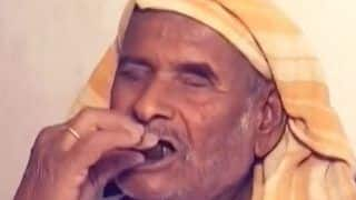 Meet Ramdas Bodke, the Man Who Survives on Eating Stones Every Day for Past 32 Years| Watch Viral Video