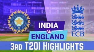 3rd T20I: Jos Buttler, Mark Wood Help England Seal Eight-Wicket Win vs India, Take 2-1 Lead