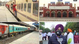 Amritsar: पंजाब के इस रेलवे ट्रैक पर 169 दिन बाद किसानों ने स्थगित किया धरना, शुरू हुईं ट्रेनें