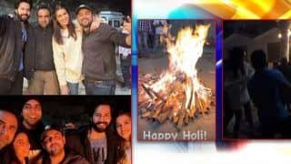 Holi 2021: वरुण-कृति ने 'भेड़िया' की टीम के साथ ऐसे मनाई Holi, इस गाने पर जमकर किया डांस- Video