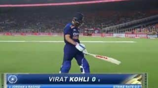 India vs england 1st t20i virat kohli named unwanted record most ducks by an indian captain in international cricket 4487294