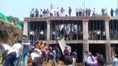 मंत्री ने जैसे ही रखा पैर, ढह गई नवनिर्मित दीवार, मध्य प्रदेश में ऐसे खुली भ्रष्टाचार की पोल