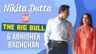 Nikita Dutta Shares Experience of Working With Abhishek Bachchan in The Big Bull: I Was Nervous, But He Made Me Comfortable