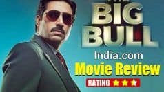 The Big Bull Movie Review: Abhishek Bachchan Shines in a Dull Story