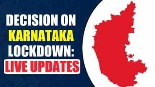 Karnataka Lockdown News Updates: Night Curfew Imposed Till May 4, Essential Services Allowed