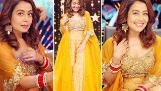 Neha Kakkar, in Rs 47K Sharara Set, is Brightest Ray of Sunshine - Check Stunning Pics