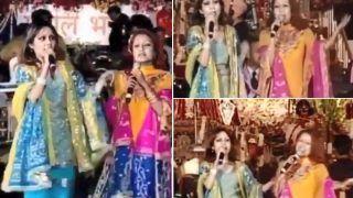Neha Kakkar, Sonu Kakkar Sing Folk Punjabi Song at Jagran, Throwback Video Goes Viral   WATCH