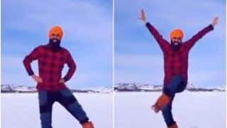 Man Does Bhangra on a Frozen Lake After Receiving Second Dose of Covid-19 Vaccine, Video is Pure Joy | Watch