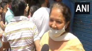 Viral Video: Delhi Aunty's Epic Reply Outside Liquor Shop Draws Cheers From The Internet | Watch