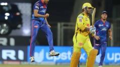 IPL 2021: MS Dhoni को शून्य पर आउट कर बोले आवेश खान- पूर्व कप्तान का विकेट लेना सपना सच होने जैसा
