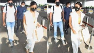 Alia Bhatt Takes Rs 2.5 Lakh Bag With Her to Maldives, Clicked With Ranbir Kapoor at Airport - See Pics