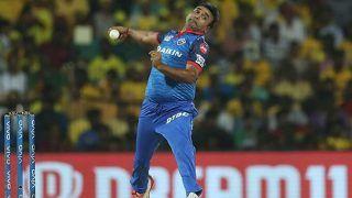 IPL 2021: Amit Mishra Gets a Warning For Applying Saliva on The Ball