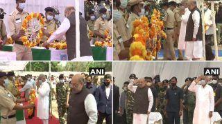 Chhattisgarh: केंद्रीय गृह मंत्री अमित शाह और CM भूपेश बघेल ने नक्सली हमले में शहीद जवानों को दी श्रद्धांजलि