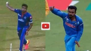 IPL 2021, CSK vs DC: Ravichandran Ashwin copy Kedar Jadhav style during 2nd match against Chennai super kings