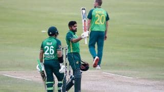 PAK vs SA 1st ODI Report: Babar Azam's Century Helps Pakistan Beat South Africa in a Thriller, Take 1-0 Lead