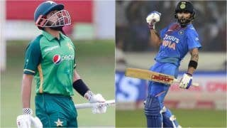 Babar Azam Pips Virat Kohli to Become No.1 Ranked Batsman in ICC ODI Rankings