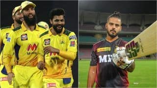 IPL 2021 Points Table Today Latest Update After PBKS vs CSK, Match 8: Chennai Super Kings Claim Second Spot After Beating Punjab Kings by 6 Wickets; Nitish Rana Maintains No.1 Position in Orange Cap List