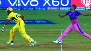 Ipl 2021 mankading again in discussion after csk vs rr match former cricketer wants equal punishment for batsman for crossing the line 4599143