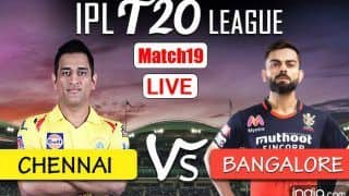 MATCH HIGHLIGHTS CSK vs RCB IPL 2021, Today's Match Scorecard: All-Round Ravindra Jadeja Guides Chennai to 69-Run Win Over Bangalore at Wankhede