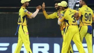 PBKS vs CSK: दीपक चाहर ने झटके 4 विकेट, जड्डू ने दिखाया फिल्डिंग में कमाल, पंजाब ने दिया 109 रनों का लक्ष्य